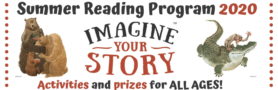 Summer Reading 2020 activities and prizes for all ages