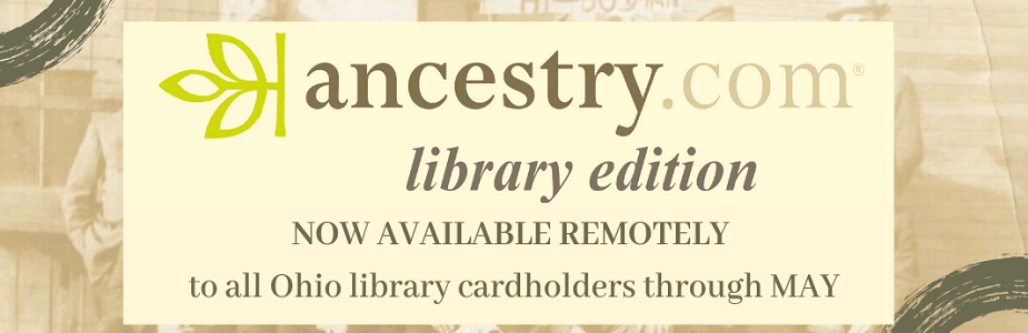 ancestry.com library edition available for free from home through May